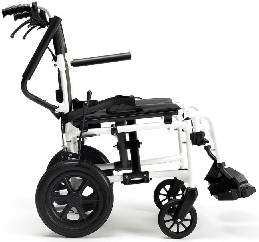 silla de ruedas estrecha bobby evo