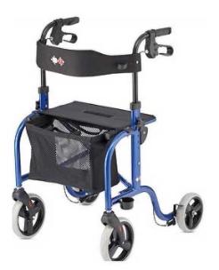 Andador de cuatro ruedas