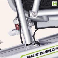 Silla de ruedas eléctrica H3T ultraligera