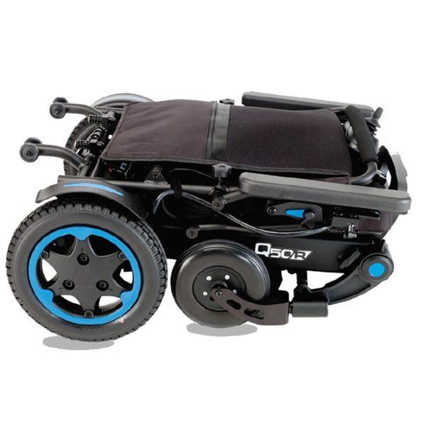 Silla de ruedas eléctrica ligera Q50R