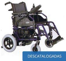 Sillas de ruedas descatalogadas ( manuales y eléctricas )
