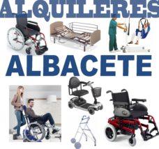 Alquiler productos Ortopédicos Albacete