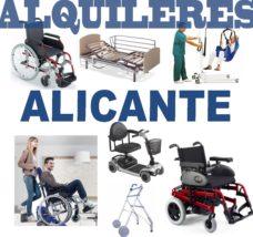 Alquiler productos Ortopédicos Alicante