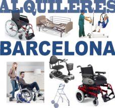 Alquiler productos Ortopédicos Barcelona