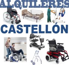 Alquiler productos Ortopédicos Castellón