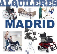 Alquiler productos ortopédicos Madrid