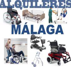 Alquiler productos Ortopédicos Málaga