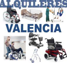 Alquiler productos Ortopédicos Valencia
