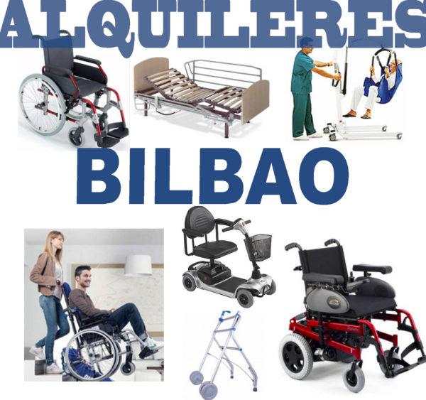 Alquiler de productos de ortopedia en Bilbao