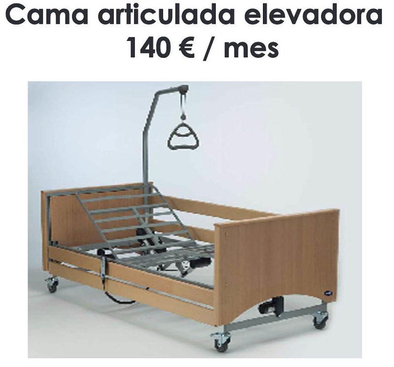 Alquiler de camas articuladas en Bilbao