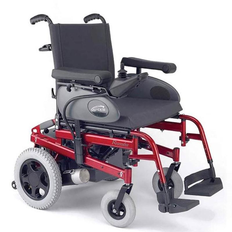Alquiler de silla de ruedas eléctrica en Bilbao