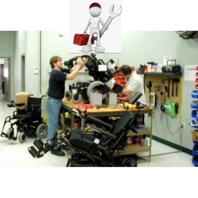 Reparación de sillas de ruedas eléctricas