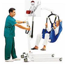 Reparación de grúas ortopédicas o enfermo