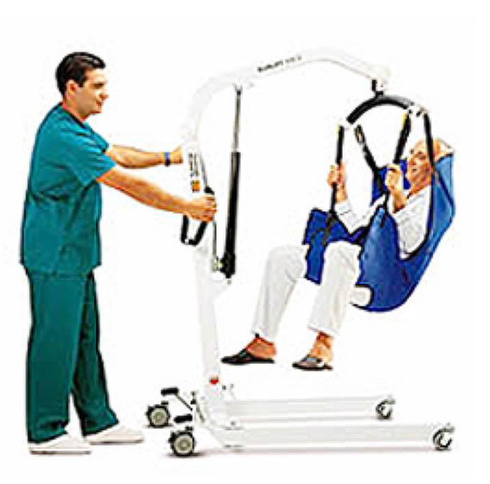 Alquiler de grúas para enfermos ortopédicas en Zaragoza