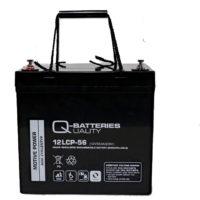 Baterías 55A-12V para sillas de ruedas y scooters