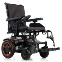 Silla de ruedas eléctrica Q100