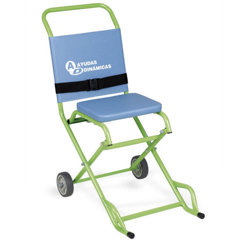 alquiler-de-silla-evacuación-ambulancia